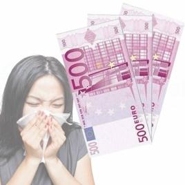 Plná Buxa - vreckovky euro 500€