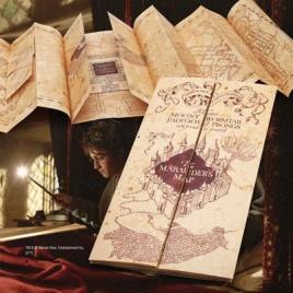 Harry Potter - replika záškodníckej mapy