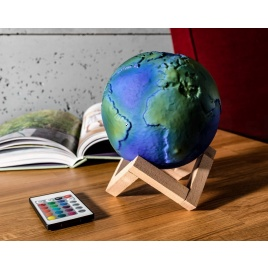 3D lampa - zem