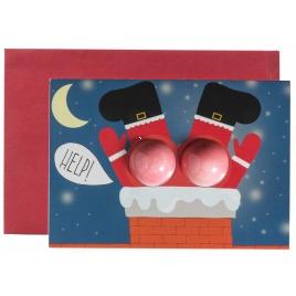 Vianočné želanie s kúpeľovou bombou - Santa