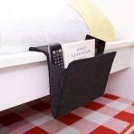 Organizér na posteľ - čierny