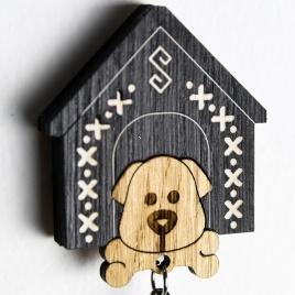 Chalúpka na kľúče - psia búdka