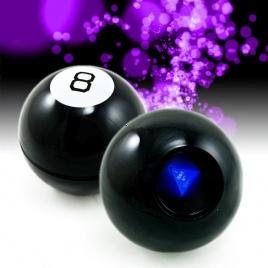 8-Ball mystická guľa