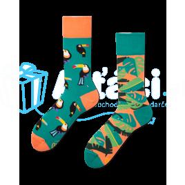 Veselé ponožky - Tropické teplo L