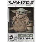 Mandalorian - plagát dieťaťa (Wanted the Child)