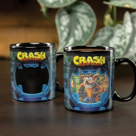Crash Bandicoot - hrnček Crash teplocitlivý