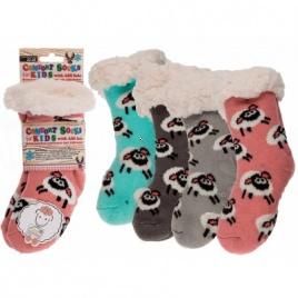 Teplé ponožky - detské  - extra hrubé