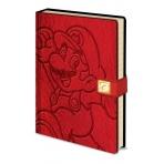 Super Mario - poznámkový blok - červený