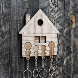 Dom na kľúče - Otec syn dcéra Mama
