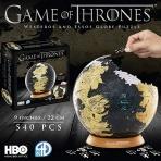 Game of Thrones - 3D puzzle Westeros a Essos Glóbus - veľké