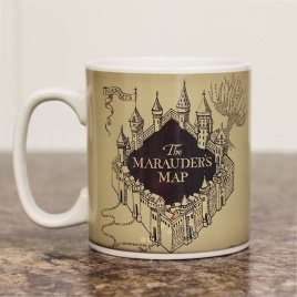Harry Potter - hrnček záškodnícka mapa - teplocitlivý