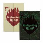 Harry Potter - poznámkový blok záškodnícka mapa