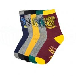 Harry Potter - set 5 párov ponožiek