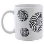 Hrnček - Optická ilúzia - kruh či ?