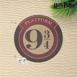 Harry Potter - osuška 9 a 3/4 kruhová