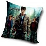 Harry Potter - obliečka na vankúš Harry, Ron a Hermiona 40x40