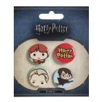 Harry Potter - sada odznakov v2
