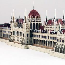 3D puzzle - budova maďarského parlamentu (Veľké)