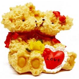 Zamilovaní mackovia - soška