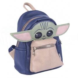Mandalorian - ruksak s motívom dieťaťa