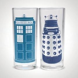Dr Who - Teplocitlivé poháre (Tardis a Dalek)