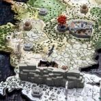Game of Thrones - 4D Puzzle mapa Westerosu  DELUXE
