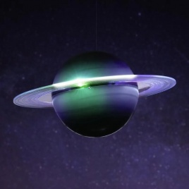 Astronaut - Lampa Saturn