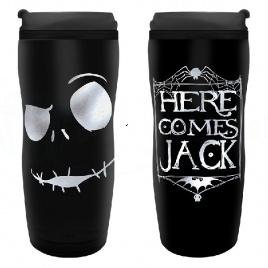 Nightmare before Christmas - Cestovný pohár Jack
