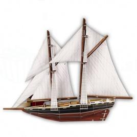 3D puzzle - Loď