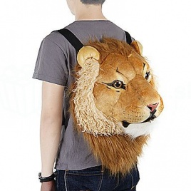 Ruksak - zvieracia hlava (lev)