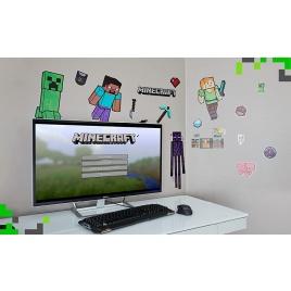 Minecraft - Sada nálepiek na stenu