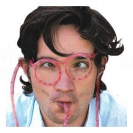 Slamkové okuliare (priesvitné)