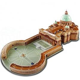 3D puzzle - Bazilika sv. Petra (Veľké)
