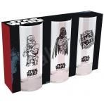 Star Wars - sada 3 pohárov
