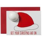 Vianočné želanie s kúpeľovou bombou - čiapka