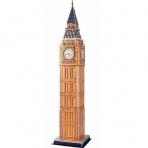 3D puzzle - Big Ben (Stredné)