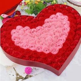 Ružové lupene - kúpeľové konfety