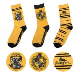 Harry Potter - Bifľomorské ponožky - set 3 párov
