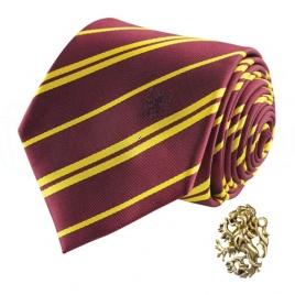 Harry Potter - kravata a manžetový gombík Chrabromil