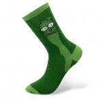 Rick and Morty - zelené ponožky Rick