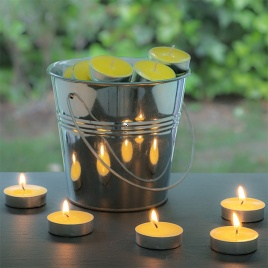 Repelentné sviečky vo vedierku - 50ks