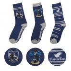 Harry Potter - Bystrohlavské ponožky - set 3 párov