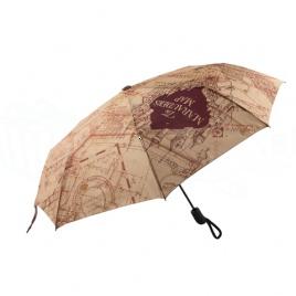 Harry Potter - Skladací dáždnik Záškodnícka mapa