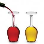 Obrátený pohár na víno