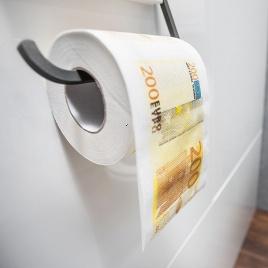 Toaletný papier 200 Euro