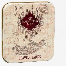 Harry Potter - hracie karty - záškodnícka mapa