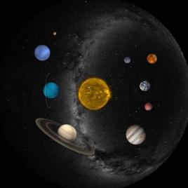Kazeta pre Planetárium Homestar - Slnečná sústava