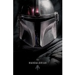 Mandalorian - plagát Mando