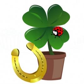 Vypestuj si štastie - plastový kvetináčik