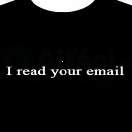Tričko - I Read Your Email (XL)